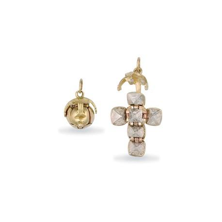 Masonic 9ct Gold Ball [Small] Silver Interior