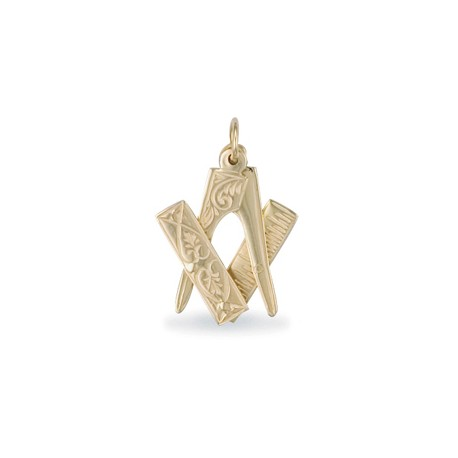 Masonic 9ct Pendant  [Medium]