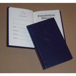 Emulation Ritual 13th Edition (Pocket) by Emulation Lodge of Improvement