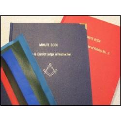 MASONIC Minute Book - Fient ruled