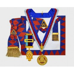 Full dress Prov. Royal Arch Apron / Collar Jewel / Badge / Gloves