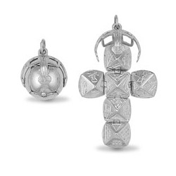 925 Sterling Silver Masonic Ball  [Medium]