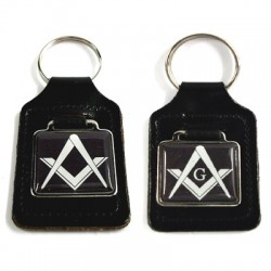 Masonic Black Key Ring (With or Without G)
