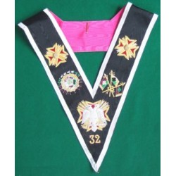 32nd Collar - Best Quality, Hand embroidered