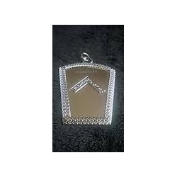 Mark Past Master Collar Jewel (Silver Plated)