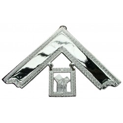 Craft Past Master Collar Jewel (Silver Plated)