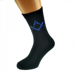 Pair of Masonic Freemasons Socks [with or Without G]