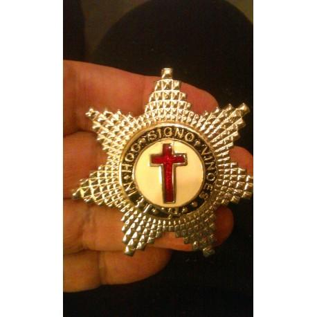 Knight Templar Breast Star