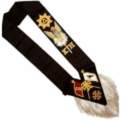 30th Degree Black Sash
