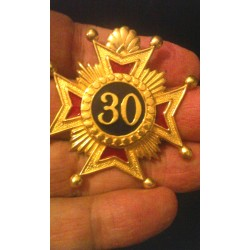 30th Degree Star Jewel