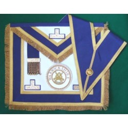 Full dress Prov. Apron / Collar Jewel / Badge / Gloves