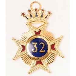 32nd Degree Collarette Jewel