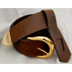 Knight Templar Leather Belt and frog