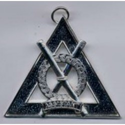 Royal Ark Mariner Officer Collar Jewel (silver Plated)