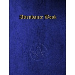 MASONIC Signature Book -